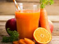 Recette de désintoxication au jus de carotte