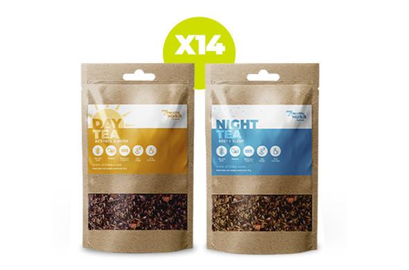 Teatox DAY+NIGHT (14 jours) }}